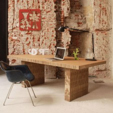 dynamo, tavolo in cartone realizzato da A4Adesign Foto Francesco Gusella          studio@a4adesign.it www.a4adesign.it
