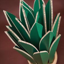 AGAVE pianta sempreverde realizzata da Honeycomb Design  info@honeycombdesign.it www.honeycombdesign.it