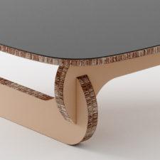 BOOMERANG realizzato da Materie Unite, ispirato da un tavolino di Noguchi, prodotto da Herman Miller negli anni '50.  hello@materieunite.it www.materieunite.it